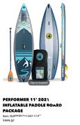 Body Glove Performer 11' Inflatable Stand Up Paddleboard - Blue