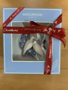 Wedgwood Christmas Tree Ornament 260th Anniversary Limited White Pigeon With Box