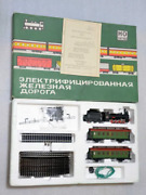 Set Of Steam Locomotives Ov And Carriages With Rails Szd No Ussr Kursk Piko