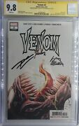 Venom 3 Cgc 9.8 💥signed By Donny Cates And Ryan Stegman 1st Appearance Knull