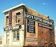 O Scale Building Kit Downtown Deco Luciand039s Tattoo + 60 Piece Detail Set