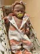 Reborn Baby Dolls Full Body Soft Silicone Girl With Coa
