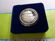1989 Chicago And Northwestern L And M C And Nw Railroad Train 999 Silver Coin Case
