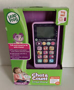 New Leap Frog Chat And Count Emoji Phone Ages 18+months Purple