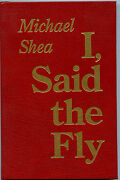 Fiction I, Said The Fly By Michael Shea. 1993. Red Leather Staff --rarest.