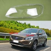 For Volvo Xc60 Headlight Glass Cover Headlamp Lens Lampshade Shell 2014 - 2019