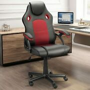 Gaming Racing Chair Ergonomic Swivel Recliner Leather Computer Desk Office Chair