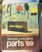 Vintage 1969 John Deere Bowling Green Ohio Tractor Parts Catalog,battery Cover