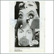 Keith Moon And Marc Bolan Signed Paul Mccartney And Wings Uk Tour Programme Uk