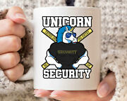 Unicorn Security Mug Funny Unicorn Dad Coffee Cup For Fathers Day Cute Magical
