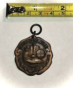 Antique Natuonal Automobile Chamber Of Commerce Safety Essay Award Medal 1928-29