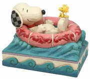 Figure Snoopy Float Away Peanuts Gym Shore Series Statue