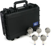 Blue Microphones Bottle Cap Kit 5 Microphone Capsule Kit With Carry Case