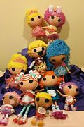 11x Lalaloopsy Bundle Dolls For Collections All Very Cute And Good Condition 20s