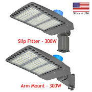 Outdoor Street Light Parking Lot Lights Dusk To Dawn 300w Ip65 For Lawnpathway