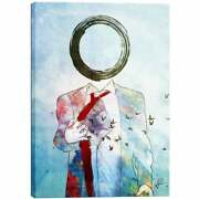 Cortesi Home Mario Sanchez Nevado And039zeroand039 Giclee Canvas Wall Blue Extra Large