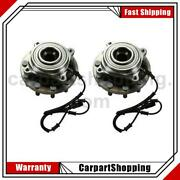 2 Centric Parts Axle Bearing And Hub Assembly Front For Dodge Ram 4500