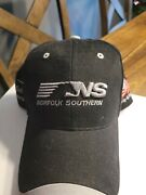 Norfolk Southern Railroad / Train Hat - 20 Years First In Safety American Flag