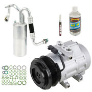 For Ford Super Duty 6.4l Powerstroke Diesel 2008-10 Ac Compressor And A/c Kit Dac