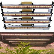 Dimmable 6000w Commercial Full Spectrum Led Grow Light Bar Tube Hydroponic Ip65