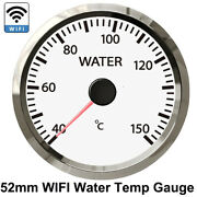 2''52mm Wifi Water Temp Temperature Gauge 40-150℃ With Stepper Motor 270 Degrees
