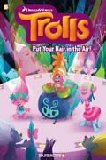 Trolls Graphic Novels 2 Put Your Hair In The Air By Dave Scheidt Used