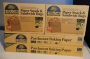 If You Care- 2 Parchment Paper 70 Sq Ft Roll And 2 Sandwich And Snack Bags 48 Ct