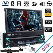 Single 1din In-dash Car Stereo 7 Touch Screen Dvd/cd Player Gps Dab+ Unit Radio