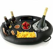 Premium Floating Drink Holder For Pools And Hot Tub Andndash Beach And Outdoor Cup Holder