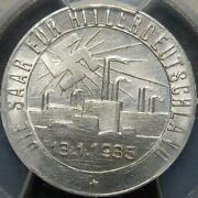 German Saar Liberation Token-1935-pcgs Ms64-3rd Reich Germany-rare Coin