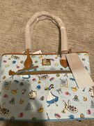 Dooney And Bourke Beauty And The Beast Tote Disney Epcot Food Wine Festival New