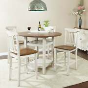 The Gray Barn Simmons 5-piece Dining Room Chair And Table Antique White 5-piece