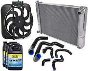 Proform 67028k Electric Fan And Radiator Kit 1986-1993 Ford Mustang 5.0l With Manu