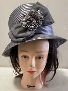 Whittall And Shon Designer Hat Black With Medallions Derby Church