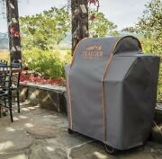 Traeger Timberline 850 Series Full Length Grill Cover Gray Bac359
