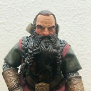 Nlp Marvel 2002 Gimli Lord Of The Rings Lotr 8.5 Action Figure Loose Clothing