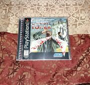 Clock Tower Ps1 Sony Playstation 1 1997 Complete With Registration Near Mint