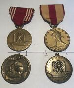 Ww2 Medal Us Wwii Marine Service Honor Good Conduct Efficiency For Service Bronz