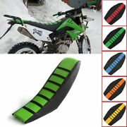 Motorcycle Rubber Soft Seat Protection Cover Striped For Honda Crf 250 L M Sl230