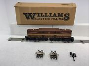 Williams Die-cast No. 4051 Prr Tuscan Red 2360 Gg-1 Electric O Gauge Used 3rail