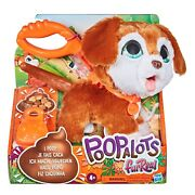 New Furreal Poopalots Big Wags Interactive Pet Toy Walk And Clean Up After Puppy