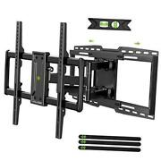 Full Motion Tv Wall Mount Bracket Fits For 32-90 Tvs Holds Up To 150lbs With