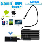 For Iphone Android Ios Pc 5.5mm Wifi Borescope Endoscope Snake Inspection Camera