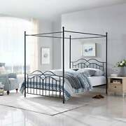 Earhart Traditional Canopy Queen Bed Frame By Christopher