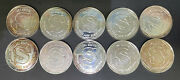 10- 1oz Siltex Silver Staue Of Liberty Rounds Vintage