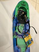 Grateful Dead Frontier Green Bear Tubbs Snowshoes Pair New
