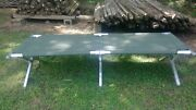 Genuine Military Issued Aluminum Portable Folding Cot Free Shipping