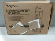 New Magreel Neoprene Waders Boot Foot Cleated Size 10