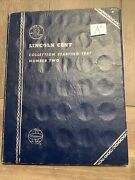 """1941-1974 Complete Lincoln Cent Collection In A Whitman Folder """"a"""""""