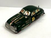 Marx Dick Tracy Police Car Wind-up And Battery Operated 1940s